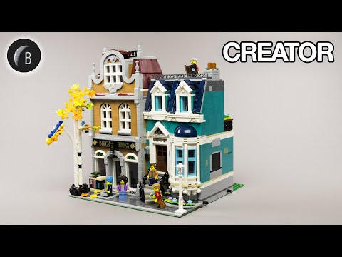 Vidéo LEGO Creator 10270 : La librairie (Modular)