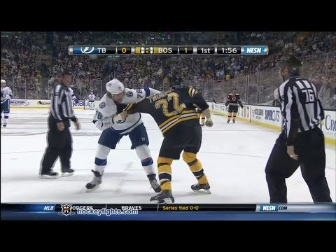 Pierre-Cedric Labrie vs Shawn Thornton