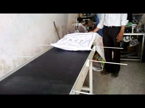 Pouch Printing Belt Conveyor