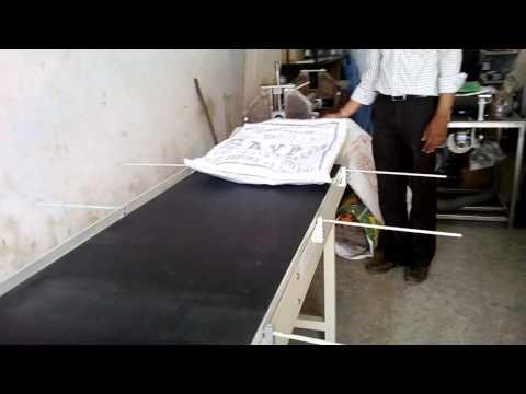 Pouch Printing Belt Conveyor