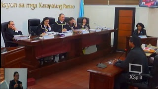Commission on Human Rights of the Philippines' National Inquiry on Climate Change Day 2