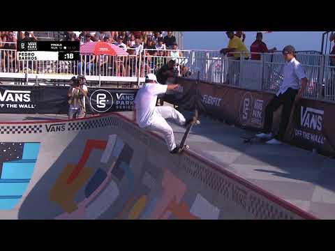 2nd Place - Pedro Barros (BRA) 87.50 | Huntington Beach, USA | 2018 Men's Vans Park Series