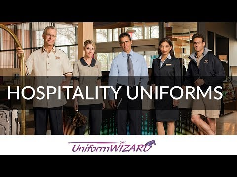 Hospitality Uniforms - Restaurant Hotel Casino Hospitality Uniforms