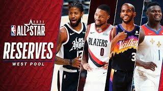 Best of 2021 Western Conference NBA All-Star Reserves | 2020-21 NBA Season