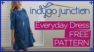 Free Pattern! The Everyday Dress, Top & Tunic