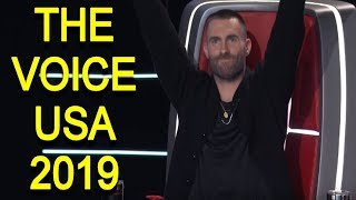 The Voice USA 2019 - Best Blind Auditions Of The Voice usa Season 15 - PART 1