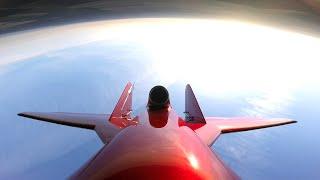Korshun F1 - Unbemanntes Flugzeug mit einer Turbine in der Garage - Wie schwer es ist !!!