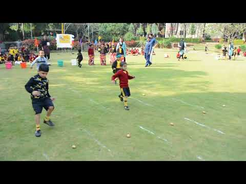 Annual Sports Meet of PrePrimary Classes