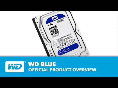 WD Blue Hard Drives - Überblick
