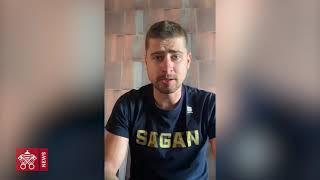 """Il ciclista Peter Sagan: la """"bici del Papa"""" sia un simbolo di ripartenza"""