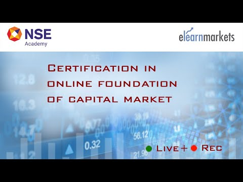 NSE Certified Capital Market Course for Beginners - YouTube