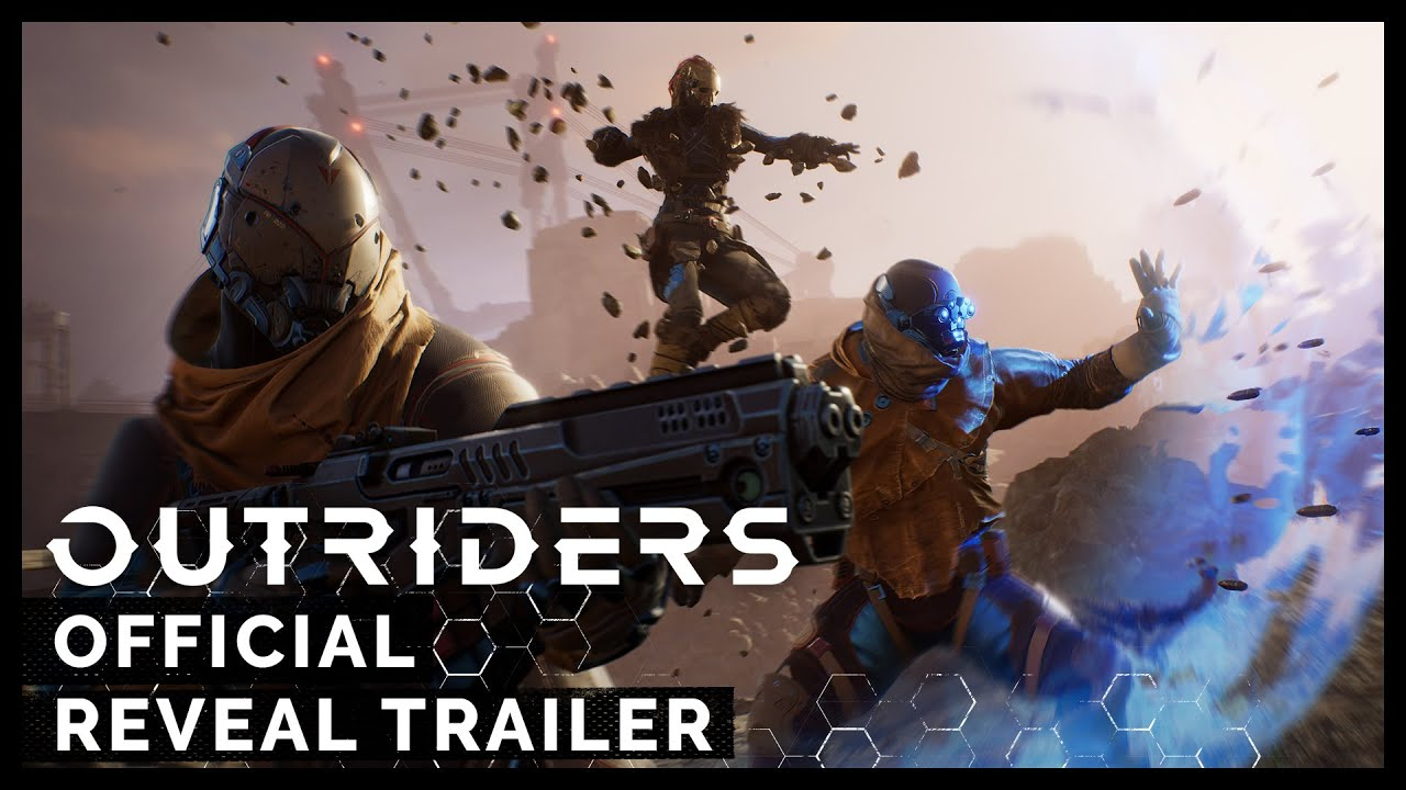 Video OUTRIDERS DAY ONE EDITION [PS4]