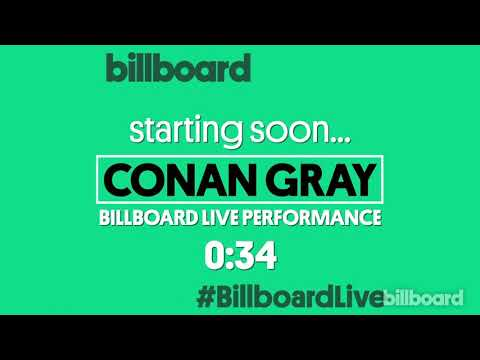 Conan Gray - Live at Billboard