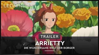 Arrietty - Die wundersame Welt der Borger Film Trailer