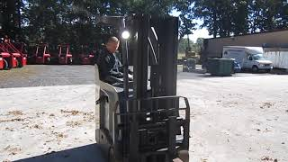 Crown Standup Forklift Operating