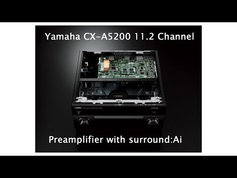 External Review Video MLxpUS41l_k for Yamaha AVENTAGE CX-A5200 11.2-channel AV Preamplifier
