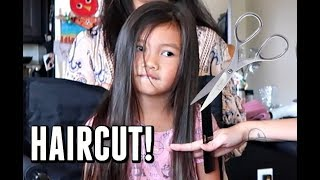 TIME FOR HAIRCUTS! -  ItsJudysLife Vlogs