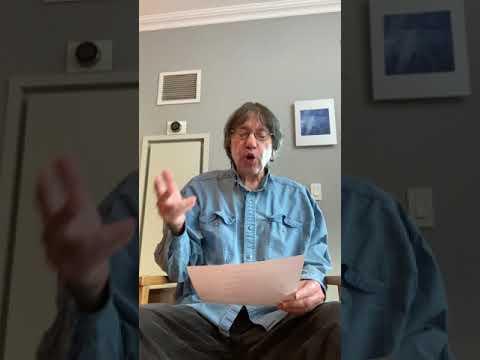 Eliot Katz with Writers Against Trump