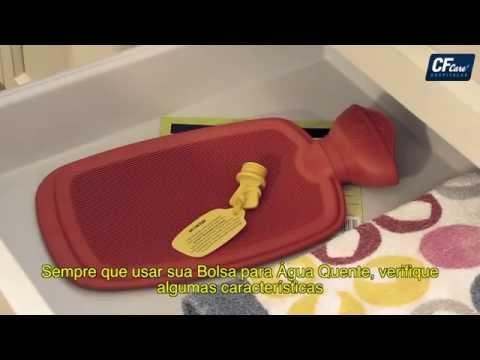 Bolsa para Água quente Mercur - Como utilizar