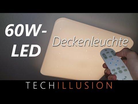 🛠TAGHELLE! 60W LED Deckenleuchte im Test - VINGO 60W LED Deckenleuchte eckig - Review & Test