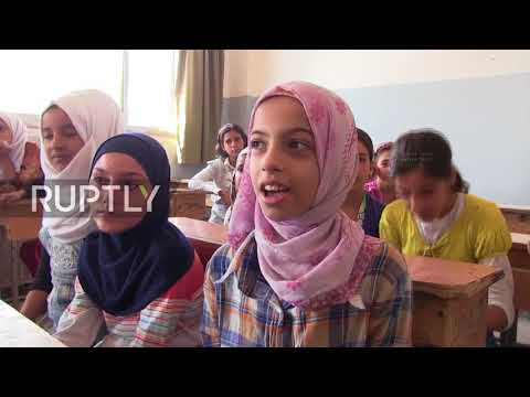 Syria: Kids in Deir ez-Zor return to school after IS siege is lifted