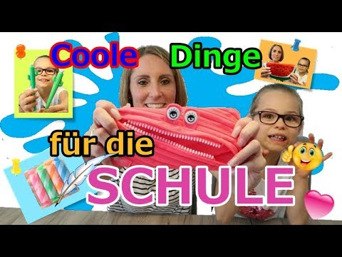 Back to School | Coole Schulsachen