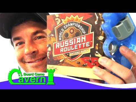 "How to play ""World Championship Russian Roulette"" - Board Game Cavern"