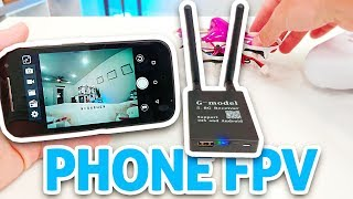 How-To Use Phone as CHEAP $18 FPV Monitor!