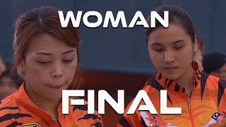 2019 ASTRO 43rd MALAYSIAN NATIONAL (WOMAN FINAL) Natasha Roslan vs Siti Safiyah