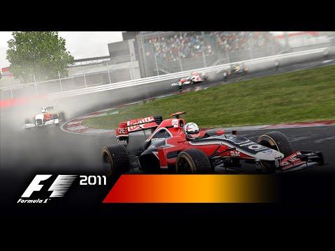 F1 2011 se ukazuje ve Vita záběrech
