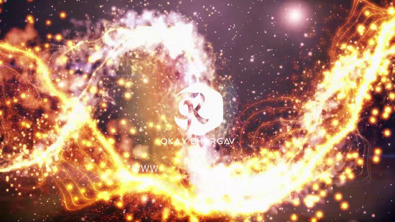 Golden Particle Logo Revel | free after effect - Okay Bhargav