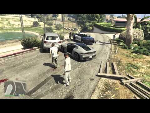 GTA 5 AI Summed Up In 76 Seconds.