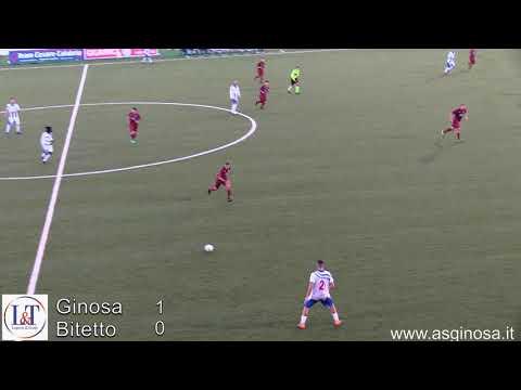 Preview video GINOSA-BITETTO 1-0 Basta un guizzo di Musa per risolvere la pratica Bitetto