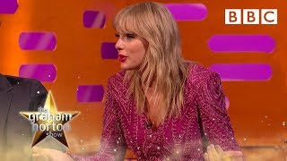 Taylor Swift's two car crashes in one day - The Graham Norton Show - BBC