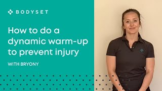 Dynamic Warm up - Injury Prevention