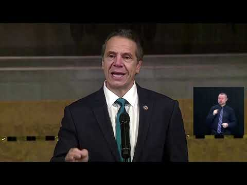 Cuomo warns of 'legal action' if Trump withholds vaccine