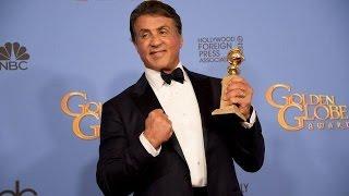 Golden Globes Stallone Stupisce Tutti Troppo Botox Figlie Sexy E Lincontro Con Apollo Creed