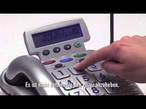 Notruf Telefon Geemarc CL600 German