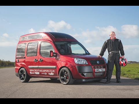 Practical Motorhome at Creation Campers' land speed record attempt (part 1)