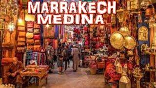 MARRAKECH MEDINA - Old Town - Morocco (4K)