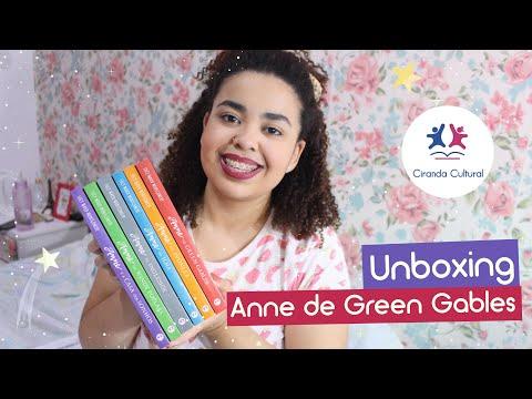 Unboxing: livros da Anne de Green Gables - Ciranda Cultural | Estrelado