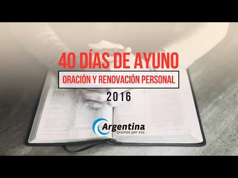 Cierre de los 40 Días de Ayuno 2016