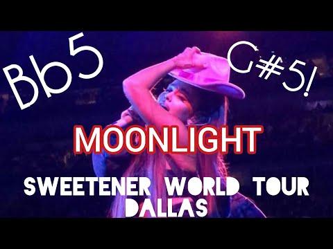 ARIANA GRANDE: SWEETENER WORLD TOUR DALLAS (VOCAL SHOWCASE)