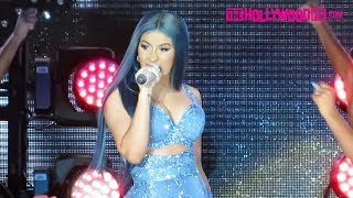 Cardi B  Styles, Has A Wardrobe Malfunction & Hypes Up The Crowd At The California Mid-state Fair