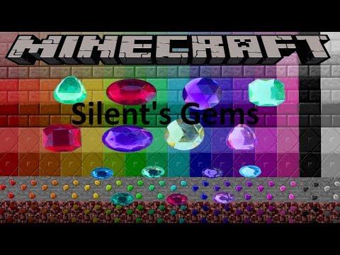 SILENT'S GEMS MOD - MINECRAFT 1.12.2 (MOD SHOWCASE)