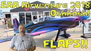 RV-10 Extra / Wings - 063 - My Report of Airventure and Working on flaps