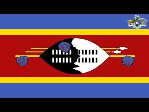 National Anthem of Swaziland   Nkulunkulu Mnikati wetibusiso temaSwati Instrumental