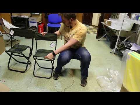 Кемпинговый стул Greenell «FC-15 R16». Видеообзор.