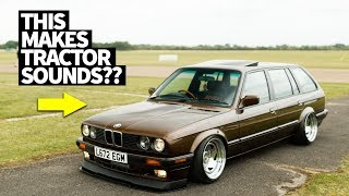 Farm-Built, Diesel Swapped BMW E30 Wagon of our Dreams