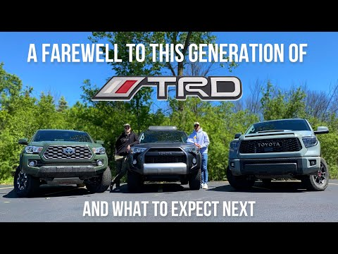 A Farewell To This Generation Of Toyota TRD (feat. 4Runner, Tacoma, Tundra)